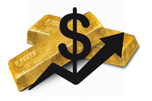cena złota w górę